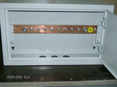 Ящик главной заземляющей шины (ГЗШ)