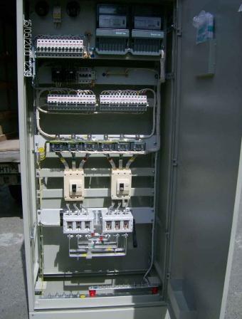 Вводно-распределительное устройство ВРУ с распределением